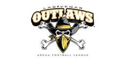 Logo of the Las Vegas Outlaws. - AFL Website