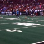 Soul K Carlos Martinez warming up for a field goal. Anthony Carter/Arena Insider