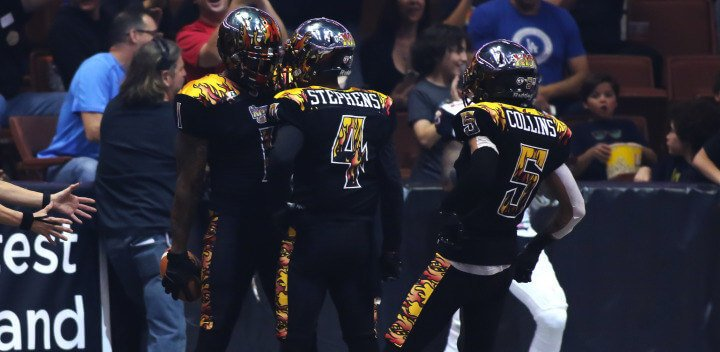 AFL 2016 Jacksonville Sharks vs LA KISS